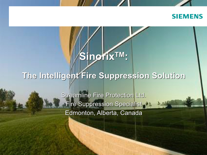 Fire Protection Services | Sinorix5